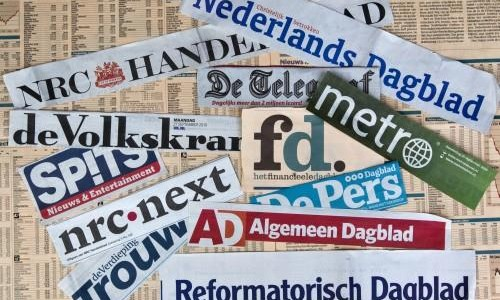 HAARLEM - Alle Nederlandse landelijke dagbladen. Een aantal landelijke kranten heeft in het tweede kwartaal van dit jaar de totale oplage zien stijgen ten opzichte van de drie maanden ervoor. Het AD, NRC.Next, De Telegraaf, de Volkskrant en De Pers verspreidden meer kranten. ANP XTRA KOEN SUYK
